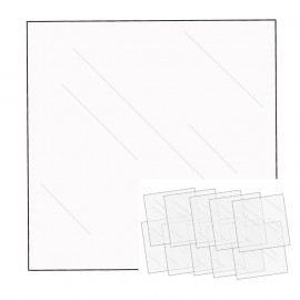 Accessories -Fuseables - 12 X 12 - Clear Sheets (10 pezzi)