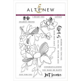 Sketchy Floral Stamp Set - Timbro di Altenew