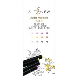 Artist Markers Set B di Altenew 12 Colori