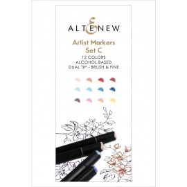 Artist Markers Set C di Altenew 12 colori