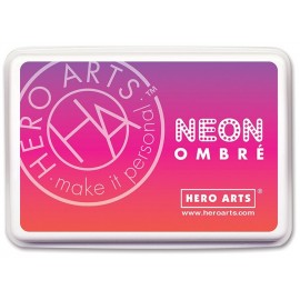 Red to Purple - Neon Ombre - Inchiostro Hero Arts