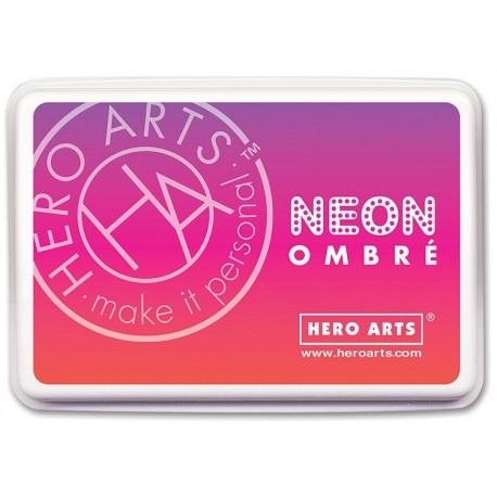 Red to Purple - Neon Ombre - Inchiostro Hero Arts