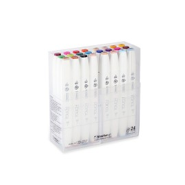 Marker Touch Twin Brush - Set di 24 colori