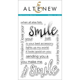 Halftone Smile Stamp Set - Timbro di Altenew