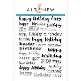 Birthday Builder Stamp Set - Timbro di Altenew