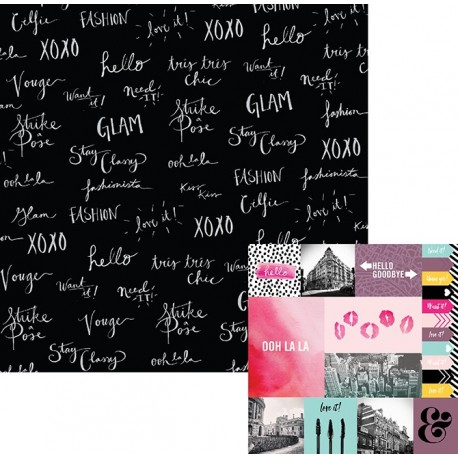 "Kit di carte ""Urban Chic"""
