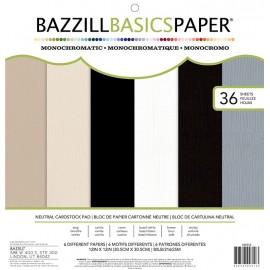 Paper Pads MONO  - 12 X 12 - Neutrals