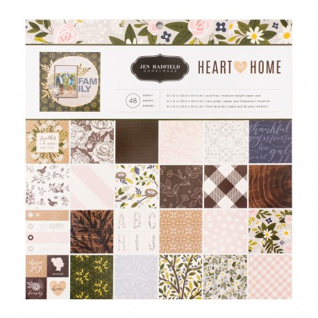 Paper Pad Heart of Home - 12x12