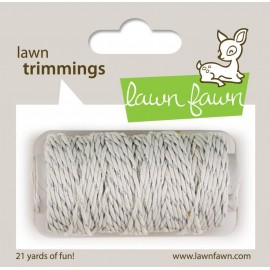 Corda di Canapa - Silver sparkle di Lawn Fawn