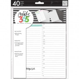 Create 365™ The Classic Happy Planner™ Daily Planning Refill