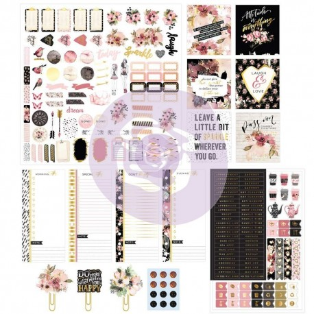 Planner Kit - Midnight Bloom di Prima Marketing