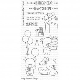 Beary special birthday - Timbro di My Favorite Things