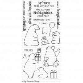 Birthday Bears - Timbro di My Favorite Things