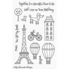 In Paris - Timbro di My Favorite Things
