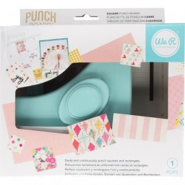 Square Punch Board di We R Memory Keepers