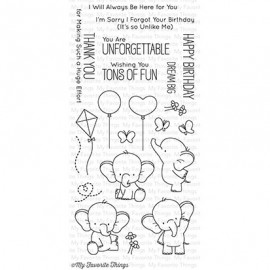 Adorable Elephants - Timbro di My Favorite Things