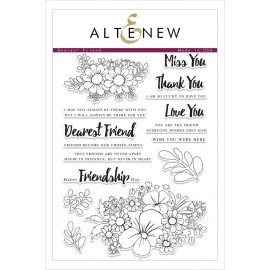 Dearest Friend Stamp Set  - Timbro di Altenew