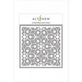Stencil di  Altenew - Layered Medallion B