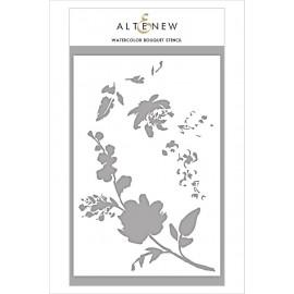 Watercolor Bouquet Stencil di Altenew