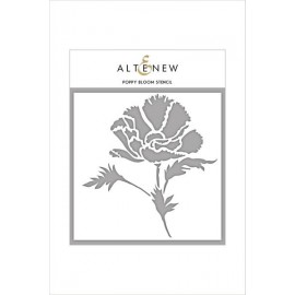 Poppy Bloom Stencil di Altenew