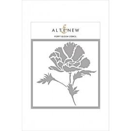 Poppy Bloom Stencil di Altenew