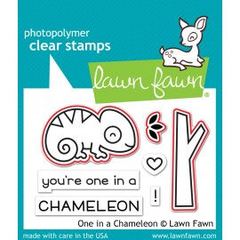 One in a chameleon - Fustella Lawn Fawn