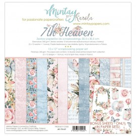 "Carta per scrapbooking di Mintay by Karola -  ""7th Heaven"""