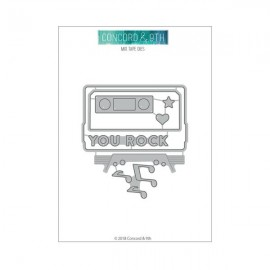 MIX TAPE DIES - Fustella Concord & 9th