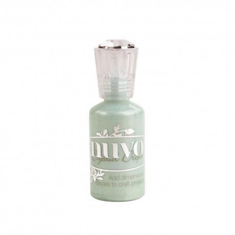 """Nuvo - Crystal Drops - """"Neptune Turquoise"""""""