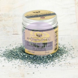 "Art Ingredients - Glass Glitter ""Platinum"""