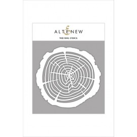 Tree Ring Stencil di Altenew