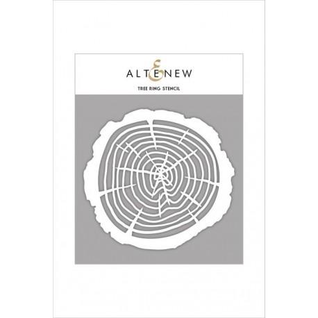 Tree Ring Stencil di Altenew