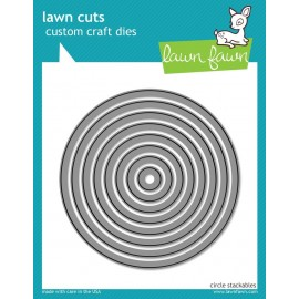 Circle Stackables - Fustella Lawn Fawn