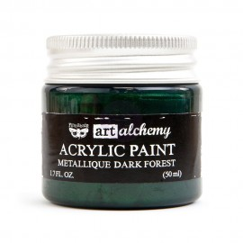 "Prima Marketing Finnabair Art Alchemy vernice acrilica metallica - ""Dark Forest"""