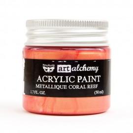 "Prima Marketing Finnabair Art Alchemy vernice acrilica metallica - ""Coral Reef"""