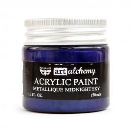 "Prima Marketing Finnabair Art Alchemy vernice acrilica metallica - ""Midnight Sky"""