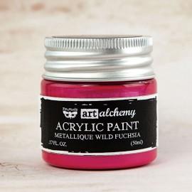 """Alchemy vernice acrilica metallica - """"Wild Fuchsia"""""""