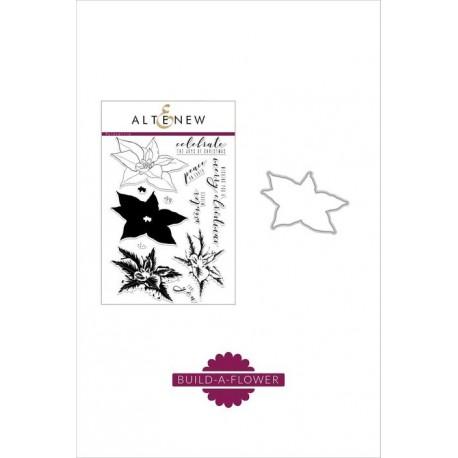 Build-A-Flower: Poinsettia - Timbro e fustella di Altenew
