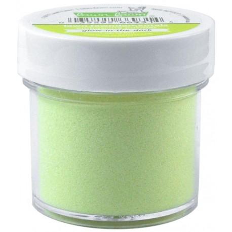 Glow-in-the-dark embossing powder