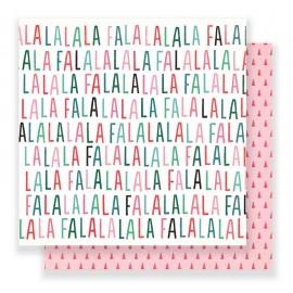 """Carta di Crate Paper """"FALALA"""" - Paper Festive"""