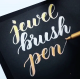 Metallic Jewel Brush Pens - Pennarelli  Metallizzati