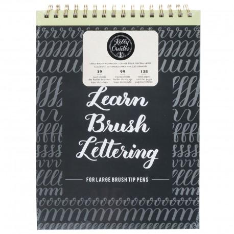 Learn Brush Workbook - Quaderno per lettering