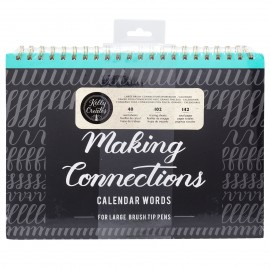 Making Connections  Brush Workbook - Quaderno per lettering