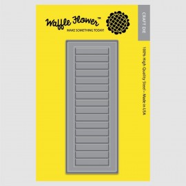 Window Shutters - Fustella Waffle Flower Crafts