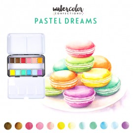 Watercolor Confections - Pastel di Prima Marketing