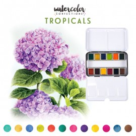 Watercolor Confections - Tropicals di Prima Marketing