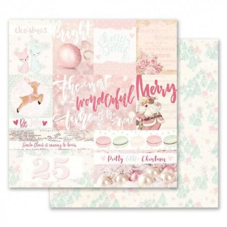 """Carta per scrapbooking di Prima Marketing 12x12""""  Santa Baby Collection"""