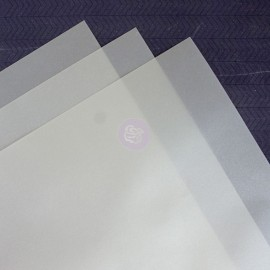 Vellum Sheets- Silver di Prima Marketing
