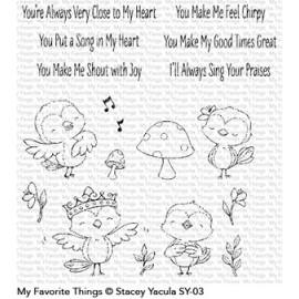 Tweet Friends - Timbro di My Favorite Things