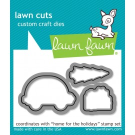 Home For The Holidays - Fustella Lawn Fawn